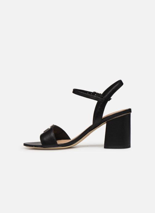 Sandales et nu-pieds Guess MACK Noir vue face