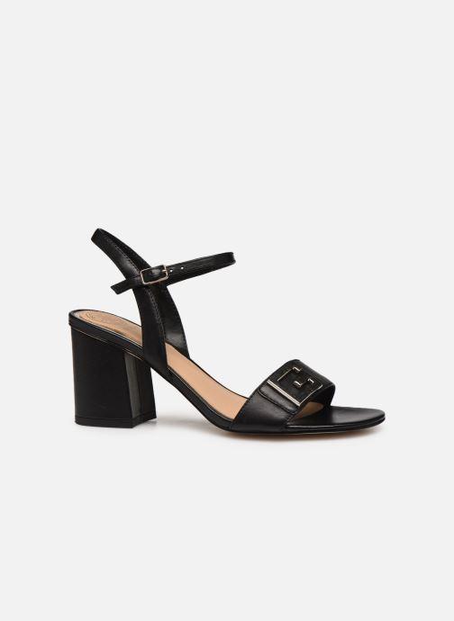 Sandales et nu-pieds Guess MACK Noir vue derrière