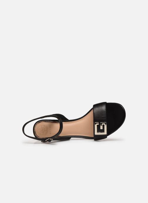 Sandales et nu-pieds Guess MACK Noir vue gauche