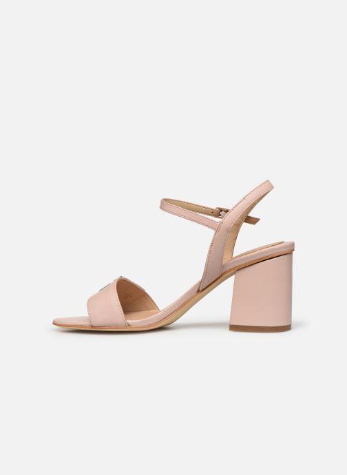 Sandalen Guess MACK rosa ansicht von vorne