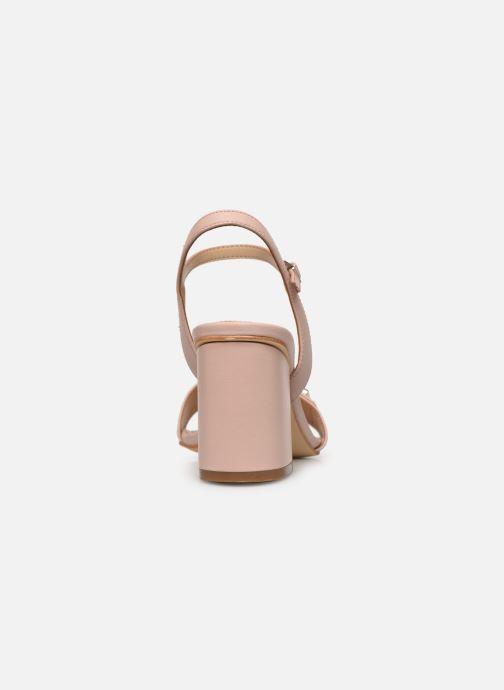 Sandalen Guess MACK rosa ansicht von rechts