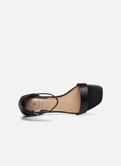 Sandales et nu-pieds Guess MAEVA Noir vue gauche