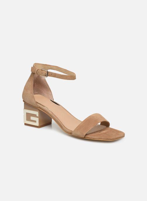 Sandales et nu-pieds Guess MAEVA Marron vue détail/paire