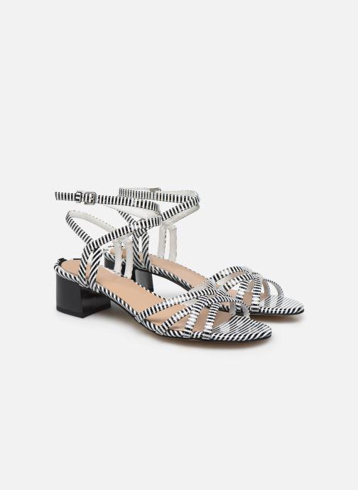 Sandales et nu-pieds Guess DARION Noir vue portées chaussures
