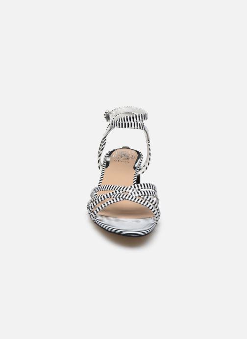 Sandales et nu-pieds Guess DARION Noir vue face
