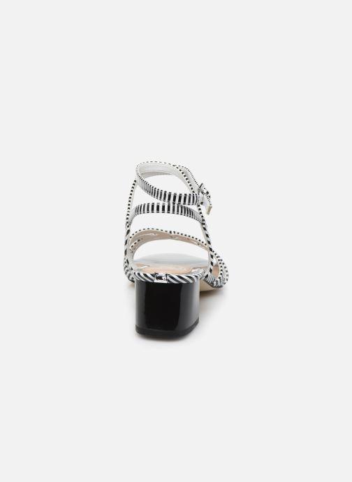 Sandali e scarpe aperte Guess DARION Nero immagine posteriore