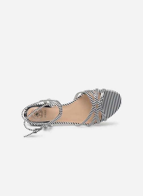 Sandales et nu-pieds Guess DARION Noir vue haut