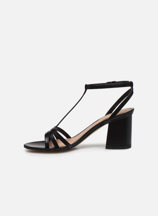 Sandales et nu-pieds Guess MAISE Noir vue face