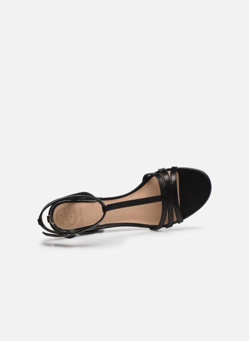Sandales et nu-pieds Guess MAISE Noir vue gauche