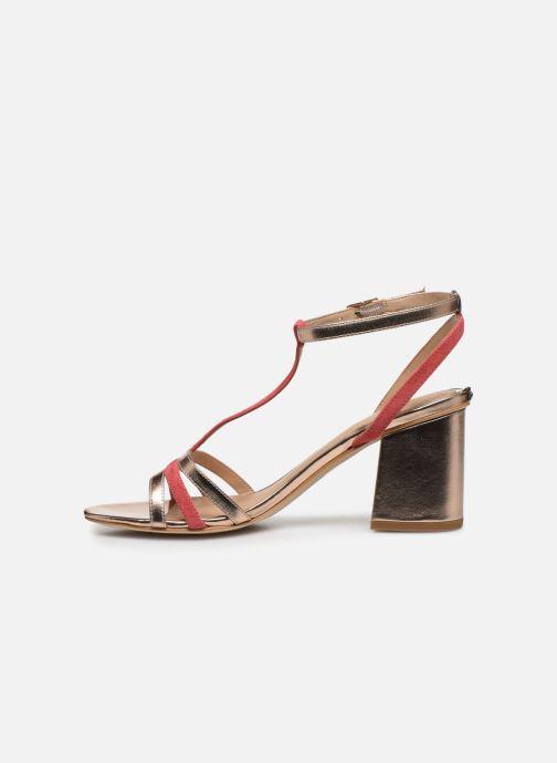 Sandali e scarpe aperte Guess MAISE Oro e bronzo immagine frontale