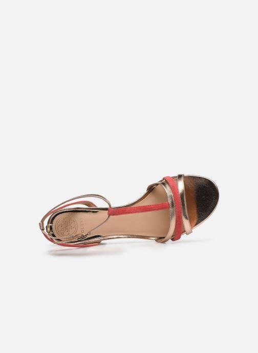 Sandali e scarpe aperte Guess MAISE Oro e bronzo immagine sinistra