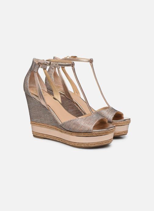 Sandales et nu-pieds Guess GACE Or et bronze vue 3/4