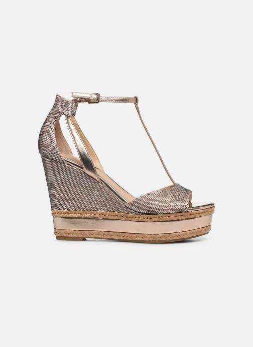 Sandales et nu-pieds Guess GACE Or et bronze vue derrière