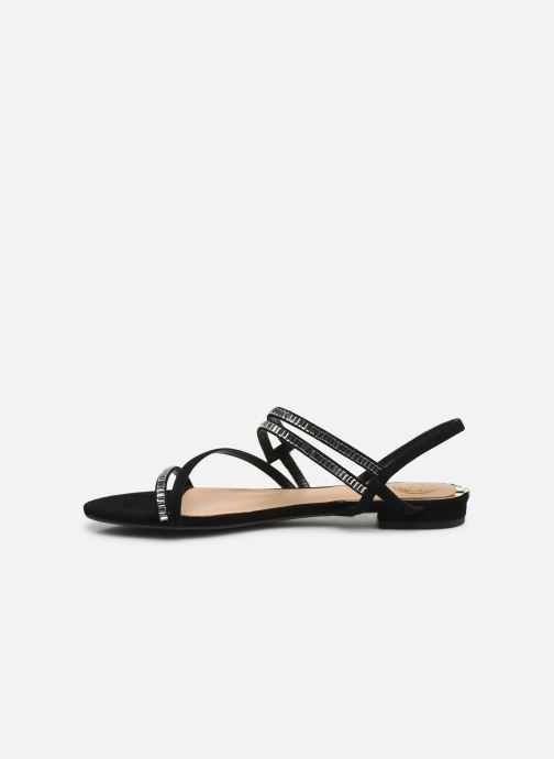 Sandales et nu-pieds Guess RAVENA Noir vue face