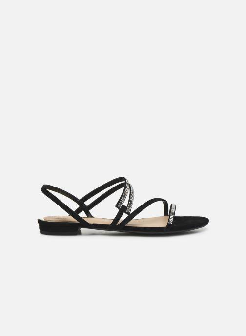 Sandales et nu-pieds Guess RAVENA Noir vue derrière