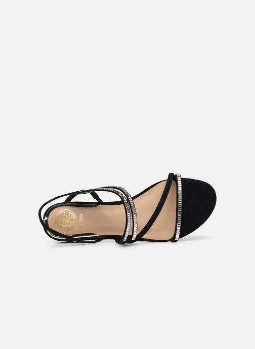Sandales et nu-pieds Guess RAVENA Noir vue gauche