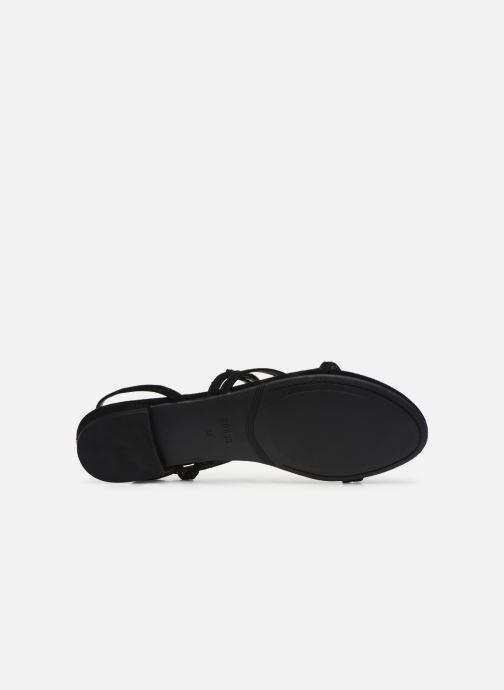 Sandales et nu-pieds Guess RAVENA Noir vue haut