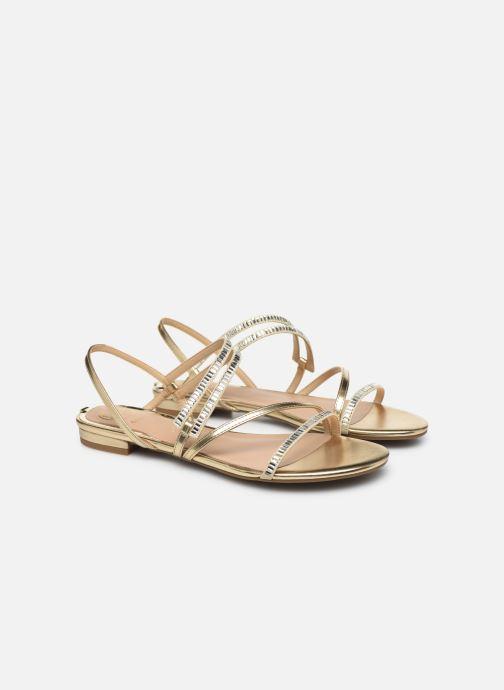 Sandales et nu-pieds Guess RAVENA Or et bronze vue 3/4