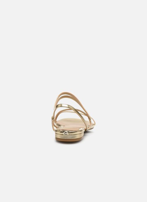 Sandales et nu-pieds Guess RAVENA Or et bronze vue droite