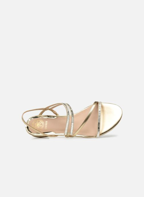 Sandales et nu-pieds Guess RAVENA Or et bronze vue gauche