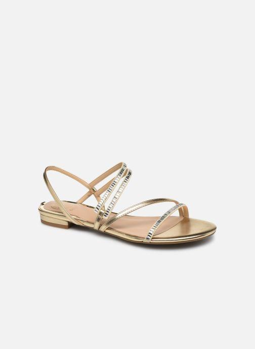 Sandales et nu-pieds Guess RAVENA Or et bronze vue détail/paire