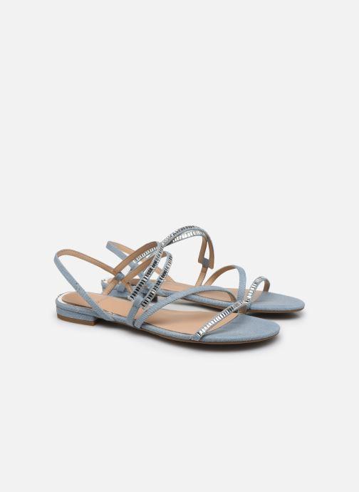 Sandales et nu-pieds Guess RAVENA Bleu vue 3/4