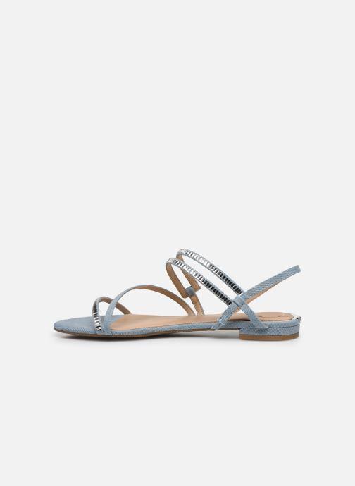 Sandales et nu-pieds Guess RAVENA Bleu vue face