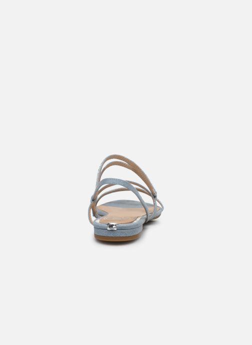 Sandales et nu-pieds Guess RAVENA Bleu vue droite