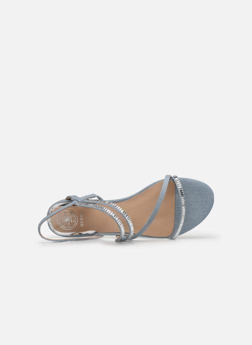 Sandales et nu-pieds Guess RAVENA Bleu vue gauche