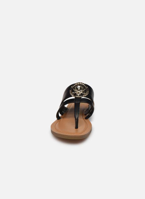 Mules et sabots Guess GENERA Noir vue portées chaussures