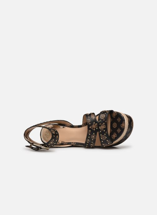 Scarpe di corda Guess LATANYE Marrone immagine sinistra