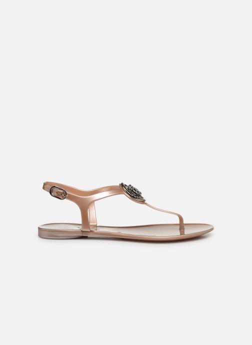 Sandales et nu-pieds Guess JAXX Or et bronze vue derrière