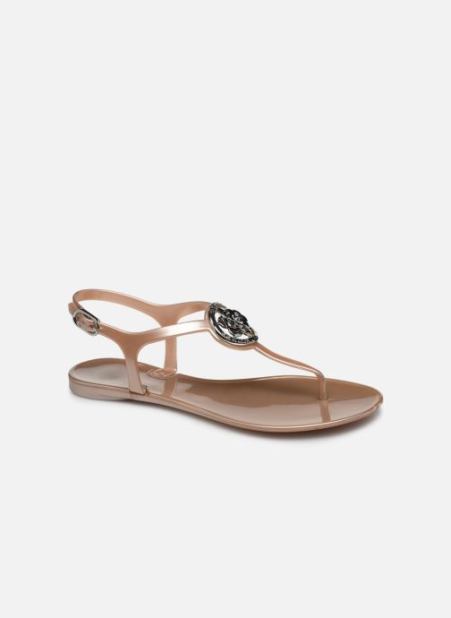 Sandales et nu-pieds Guess JAXX Or et bronze vue détail/paire