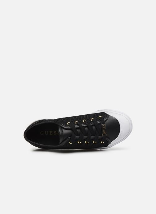 Sneakers Guess GITNEY Nero immagine sinistra