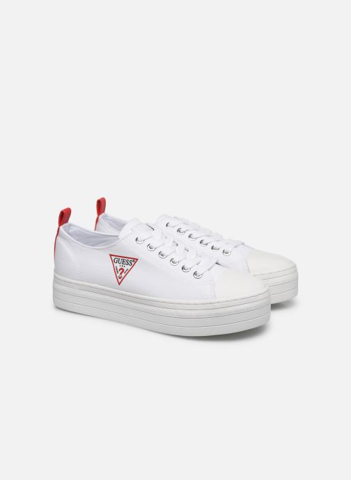 Sneakers Guess BRIGS Bianco immagine 3/4