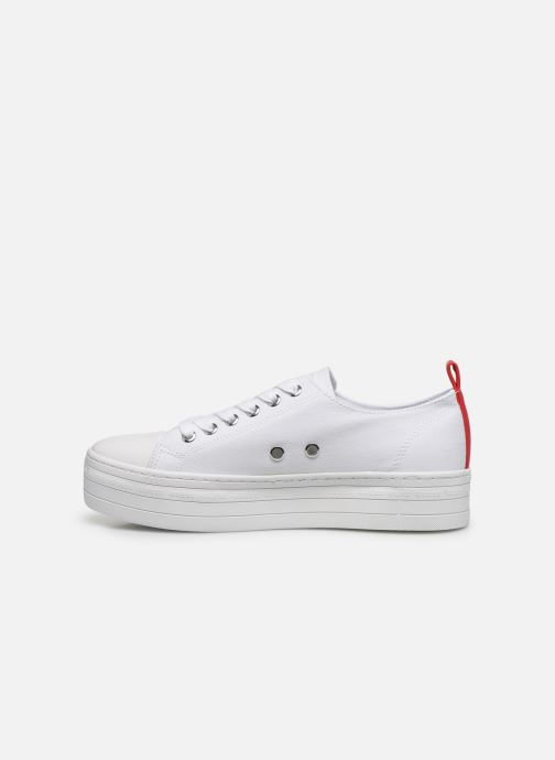 Sneakers Guess BRIGS Bianco immagine frontale
