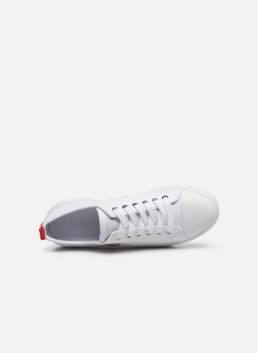 Sneakers Guess BRIGS Bianco immagine sinistra
