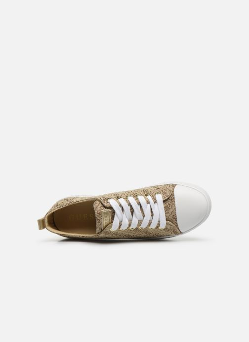 Sneakers Guess BRIGS Beige immagine sinistra