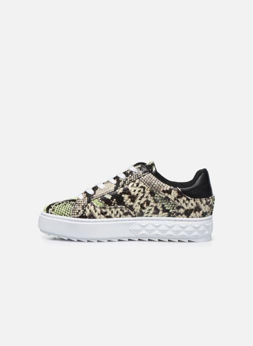 Sneakers Guess FIGGI Verde immagine frontale
