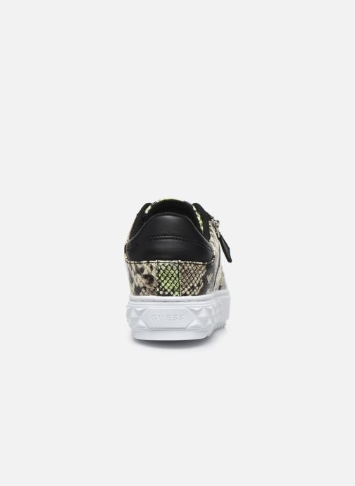 Sneakers Guess FIGGI Verde immagine destra