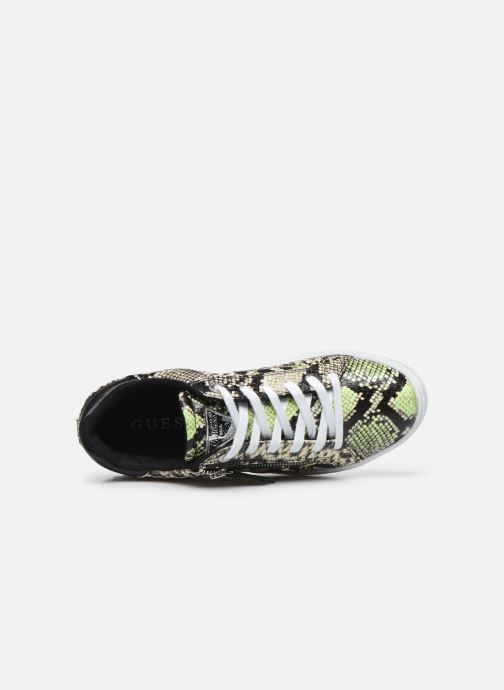 Sneakers Guess FIGGI Verde immagine sinistra