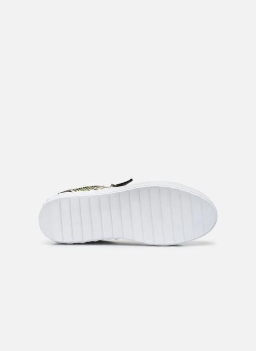 Sneakers Guess FIGGI Verde immagine dall'alto