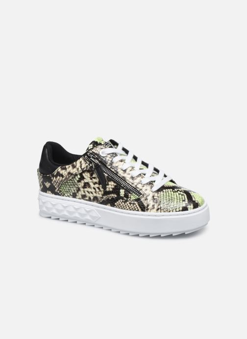 Sneakers Guess FIGGI Groen detail