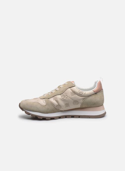Sneakers Guess ARIEL Beige immagine frontale