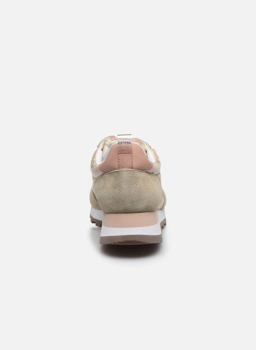 Sneakers Guess ARIEL Beige immagine destra
