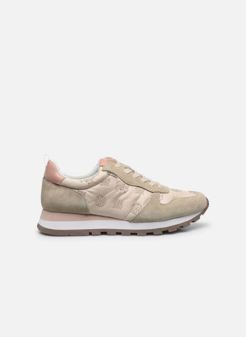 Sneakers Guess ARIEL Beige immagine posteriore