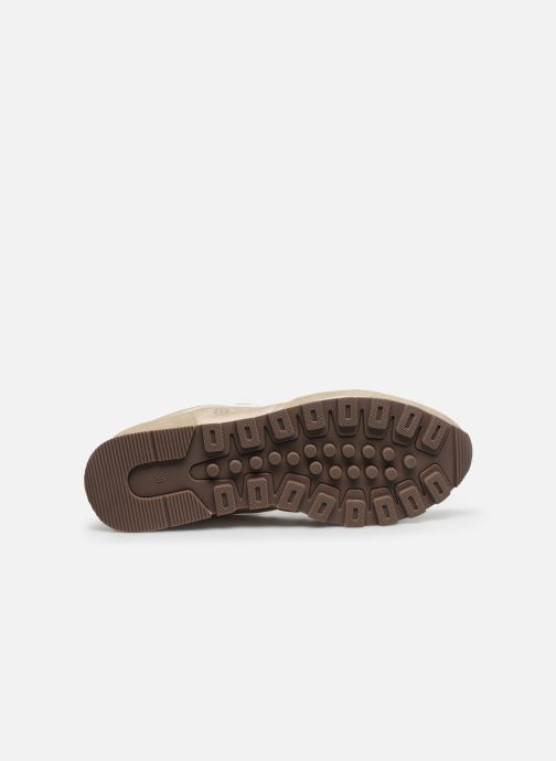 Sneakers Guess ARIEL Beige immagine dall'alto
