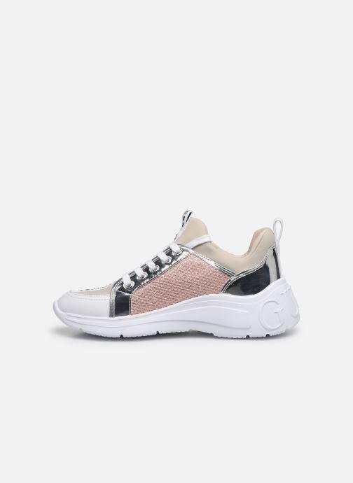 Sneakers Guess SPEERIT Beige immagine frontale