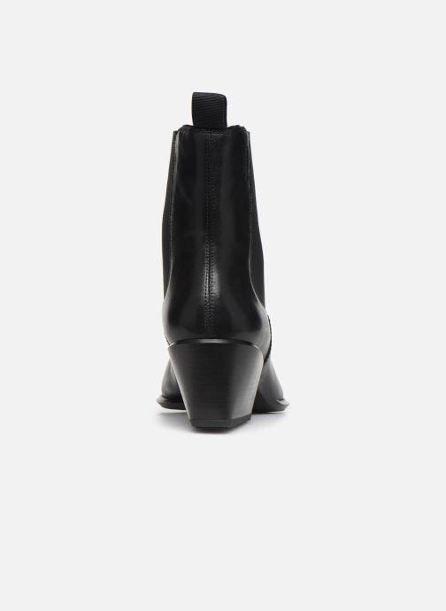 Botines  Vagabond Shoemakers BETSY Negro vista lateral derecha