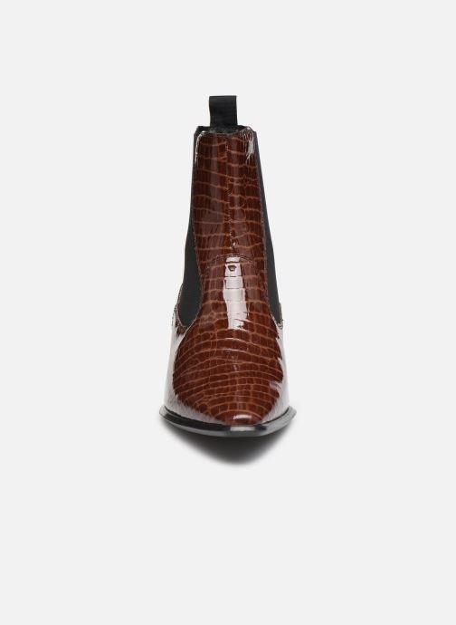Bottines et boots Vagabond Shoemakers BETSY Marron vue portées chaussures